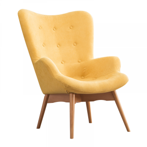 Contour Chair Yellow