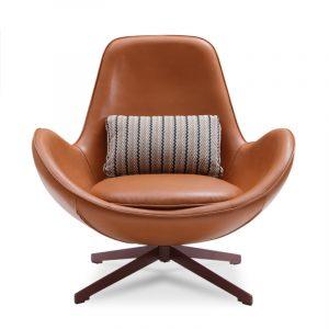 Arne Jacoobsen Egg Chair Leather
