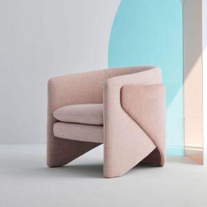 Comfy Pink Armchair