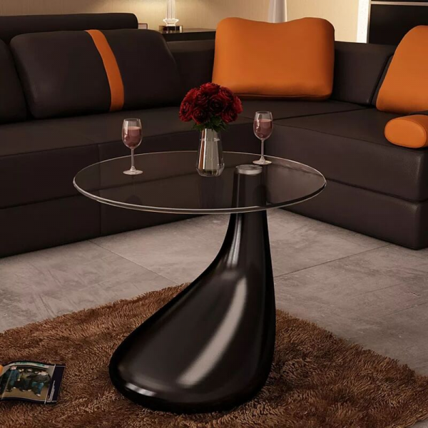 Side Table Glass Top