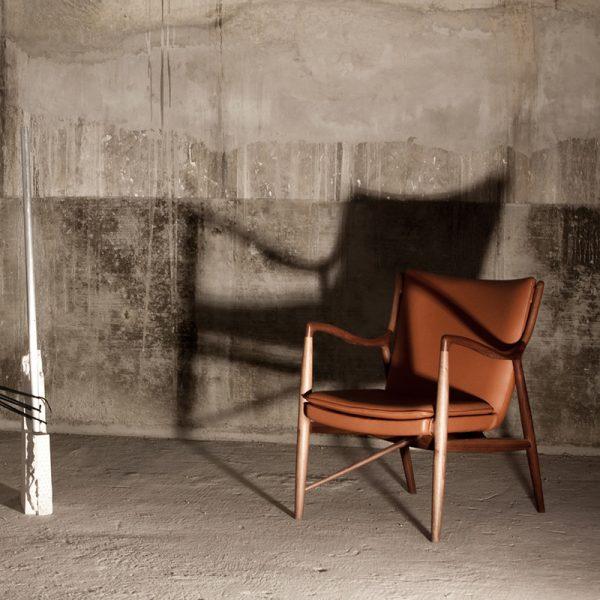 Scandinavian Wooden Lounge Chair