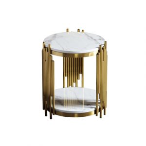 Brass Gold Side Table