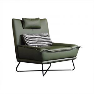 Leather Lounge Chair Mid Century