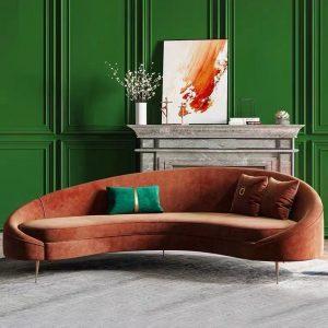 Half Moon Living Room Sofa
